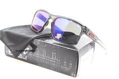 OAKLEY OO 9262-11 SLIVER Gray Smoke/Positive Red Irid Polar Sunglasses NWT AUTH #Oakley #Rectangular