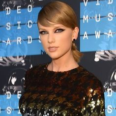 """#TaylorSwift makes the list for """"Best Makeup Looks From The 2015 VMAs"""""""
