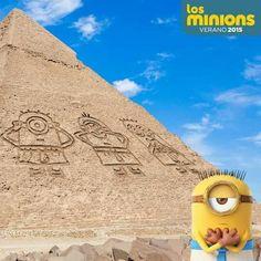 Minions egipt