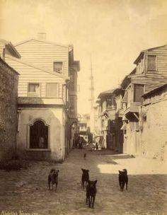 Abdullah-Freres-Une-rue-a-Stamboul-Constantinople-Turquie-circa-1880-Tirag