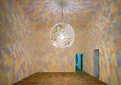 """BERLIN COLOUR SPHERE"" by Olafur Eliasson @ Sammlung Boros, Berlin"