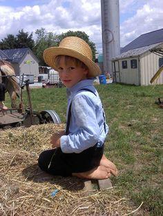 Amish boy, Paradise, PA - June 4, 2012