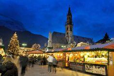Bolzano, Italy #italy #bolzano #winter #christmas