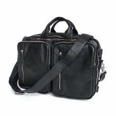 7bd145ef1188 Nesitu Real Genuine Leather Men Messenger Bags 14'' Laptop Briefcase  Cowhide Portfolio Business Travel Bag #M7041