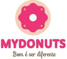Logo MYDONUTS - versão preferencial oficial.