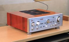 Classic Luxman amplifier from the golden era.