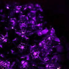 5m 50 Led  Blossom Solar Fairy Lights for Gardens, Homes, Christmas, Party