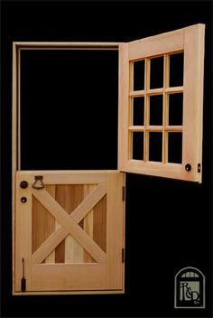 Purchasing interior barn doors is easy and there are many available options to choose from. Consider the different factors in choosing the right barn door from quality, durability, to price. Half Doors, Windows And Doors, Carriage Doors, Main Door Design, Diy Barn Door, Entrance Doors, Exterior Doors, Play Houses, Dutch Doors
