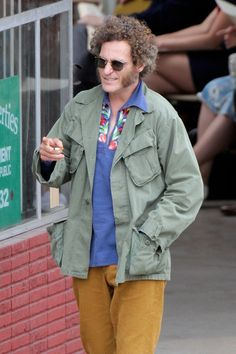 """Joaquin Phoenix in """"Inherent Vice"""", the movie written and directed by Paul Thomas Anderson"""