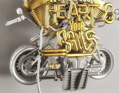 "Check out new work on my @Behance portfolio: ""Harley Davidson - Heart & Balls"" http://on.be.net/1NSfoYN"