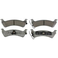Disc Brake Pad Set-ThermoQuiet Disc Brake Pad Front Wagner MX818
