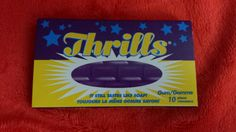Package of Thrills gum.  And yes it actually does taste like soap, as advertised! Lol