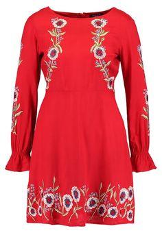 New Look Petite POPPY - Sukienka letnia - red - Zalando.pl
