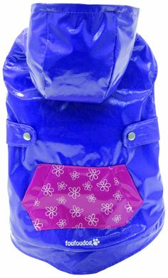 FouFou Dog Reversible Raincoat, Fuchsia/Purple, X-Large * Special dog product just for you. Dog Raincoat, Dog Itching, Dog Training Pads, Dog Food Storage, Dog Shower, Dog Shedding, Dog Chew Toys, Dog Diapers, Dog Eyes