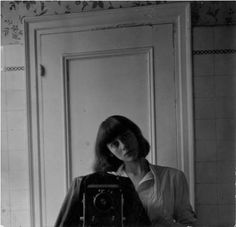 Self portrait -Diane Arbus.