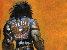 a arte heavy metal de simon bisley Simon Bisley, Marvel Comics, Dc Comics Heroes, Arte Dc Comics, Marvel Art, Comic Book Covers, Comic Books Art, Book Art, Batman