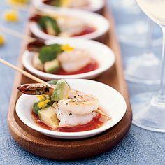 Grilled Shrimp with Sangrita - 27 Coastal Shrimp Recipes - Coastal Living