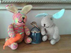 mad bunny and onoodles bunny