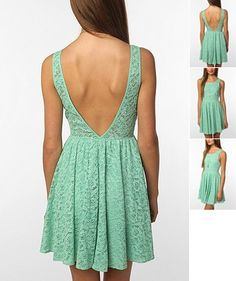 Beautiful mint color - from Urban Outfitters. Looks adorable in any color