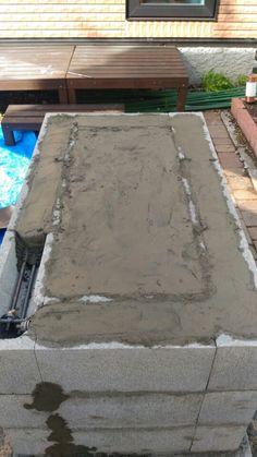 お庭にバーベキューコンロをDIYしてみた 全工程(まとめ)   のんの妄想日記