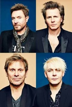 The men of Duran Duran