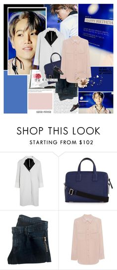"""""""Happy Birthday Kai"""" by rainie-minnie ❤ liked on Polyvore featuring Oris, Assouline Publishing, Roland Mouret, Loewe, J Brand, Equipment, Gucci, WALL, kpop and happybirthday"""