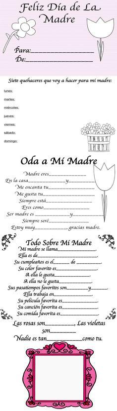 Para celebrar todas las madres!