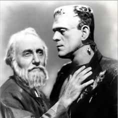 Boris, with the blind hermit (The Bride of Frankenstein)