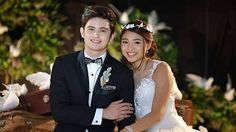 James Reid co-wrote the wedding vows of his character Clark who got married to Leah (played by Nadine Lustre). Wedding Vows, Dream Wedding, Wedding Dresses, Wedding Ideas, Filipino Wedding, James Reid, Bride Poses, Nadine Lustre, Badass Aesthetic