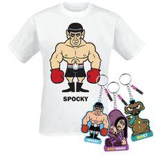 Spocky (T-Shirt) van Popmash
