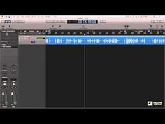 Settings for voice recording template in Logic Pro X