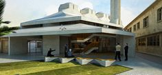 Büyükada Çarşı Camii Mimari Fikir Proje Yarışması 1. Ödül [Zambak Mimarlık] / Büyükada Çarşı Mosque Architectural Concept Project Competition 1. Prize [Zambak Architects]