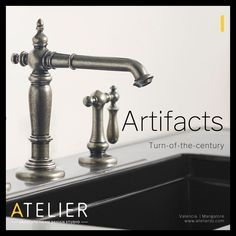 Turn - of - the - Century charm Vintage treasure Rediscovered | Faucets that uncover a wealth of possibility | The bold look of KOHLER at Atelier Designs | info@atelierdz.com #faucet #bathroomdesign #antique #vintage #bathroom #design #architecture #kohler #modernfusion #style #productdesign #art #innovation #inspiration Valencia, Marble Bathroom Counter, Mangalore, Wooden Flooring, Faucets, Rustic Decor, Wealth, Architecture Design, Innovation