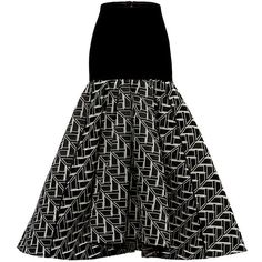 Maticevski Tranquil Skirt In Charcoal (35 630 UAH) ❤ liked on Polyvore featuring skirts, high-waist skirt, asymmetrical skirts, pleated skirt, midi skirt and charcoal skirt