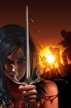 Elektra by Greg Horn