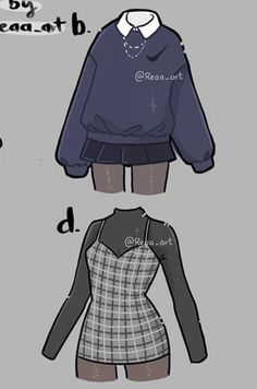 Retro Outfits, Mode Outfits, Cute Casual Outfits, Girly Outfits, Cute Art Styles, Cartoon Art Styles, Art Drawings Sketches Simple, Pencil Art Drawings, Cartoon Drawings