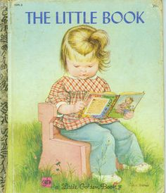 vintage Little Golden Book The Little Book illustrations by Eloise Wilkin eighth printing, 1979 edition on cover tight cover and clean pages Please see photos for best assessment. An all-time favorite, Eloise Wilkin's produces winners. Little Golden Books, Little Books, I Love Books, My Books, Story Books, Vintage Children's Books, Vintage Cards, Children's Literature, Children's Book Illustration
