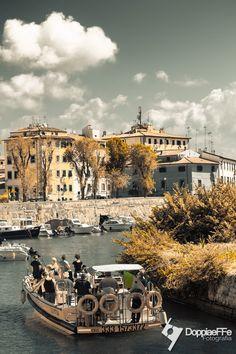 Livorno - Rione Pontino S. Marco - Gita in battello