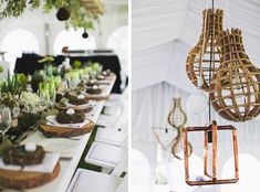 Botanical Olive Farm Wedding by Justin Davis Farm Wedding, Wedding Events, Wedding Reception, Weddings, Wedding Decorations, Table Decorations, Getting Married, Centerpieces, Table Settings