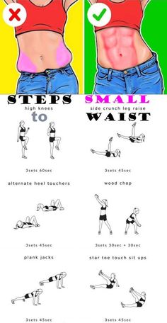 How to Steps to Small Waist – ?How to Steps to Small Waist – ?How to Steps to Small Waist – ?How to Steps to Small Waist – Fitness Workouts, Gym Workout Tips, Fitness Workout For Women, At Home Workout Plan, Workout Challenge, Easy Workouts, At Home Workouts, Body Fitness, Side Workouts