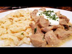 Tejfölös sertés apró hús / Szoky konyhája / - YouTube Mashed Potatoes, Ethnic Recipes, Youtube, Food, Whipped Potatoes, Smash Potatoes, Essen, Meals, Youtubers