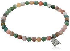 Satya Jewelry 'Classics' Fancy Jasper Mini Tree of Life Stretch Bracelet ** Additional details @ http://www.amazon.com/gp/product/B003ZYF5RG/?tag=finejewelry4u.com-20&phi=190716023908