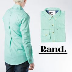 Sugar and Spice and everything nice, that's what Rand is made of! Now available on our website!! #getyourpdl #style #vancouver #borrowedfromtheboys #buttondown #buttonshirt http://www.peaudeloup.com/products/rand