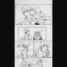 Zen x Mc 3/3 Comic Pictures, Cute Pictures, All Anime, Anime Art, Yoosung X Mc, Mystic Messenger Comic, Am I In Love, My Prince, Cartoon Drawings