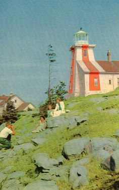 Prim Point Lighthouse, Nova Scotia.