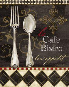 Bistro Cafe Utensílios
