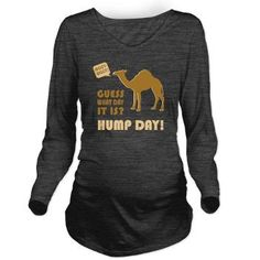 HUMP DAY! Long Sleeve Maternity T-Shirt