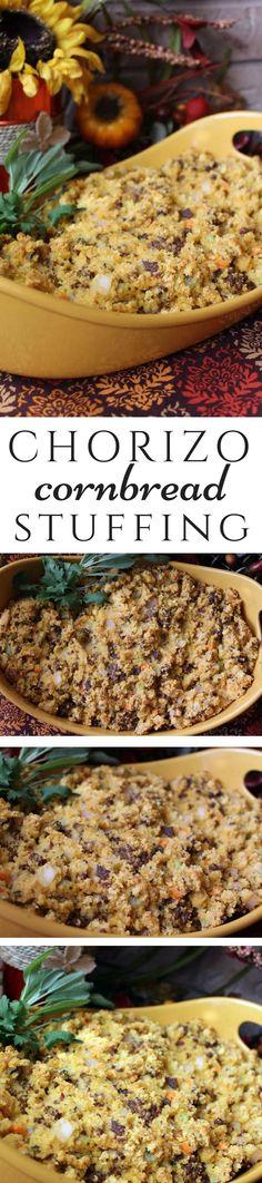 Chorizo Cornbread Stuffing