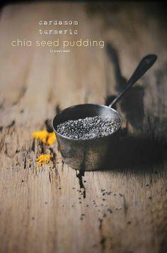 turmeric chia seeds | A Brown Table