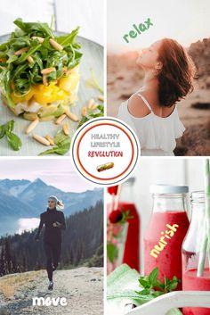 Ein gesunder Lebensstil sollte einfach umzusetzen sein. #jumpstart your health mit etwas Bewegung, pflanzlicher Nahrung, Entspannung und nicht zu vergessen - umgib dich mit positiven Menschen! LG Martina